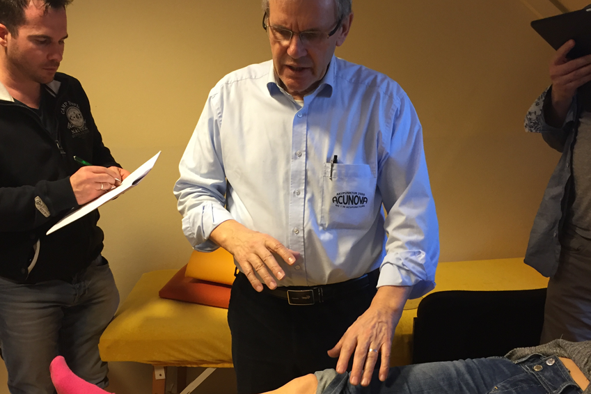 Neue Systeme in der Augenakupunktur - Prof. Dr. John Boel